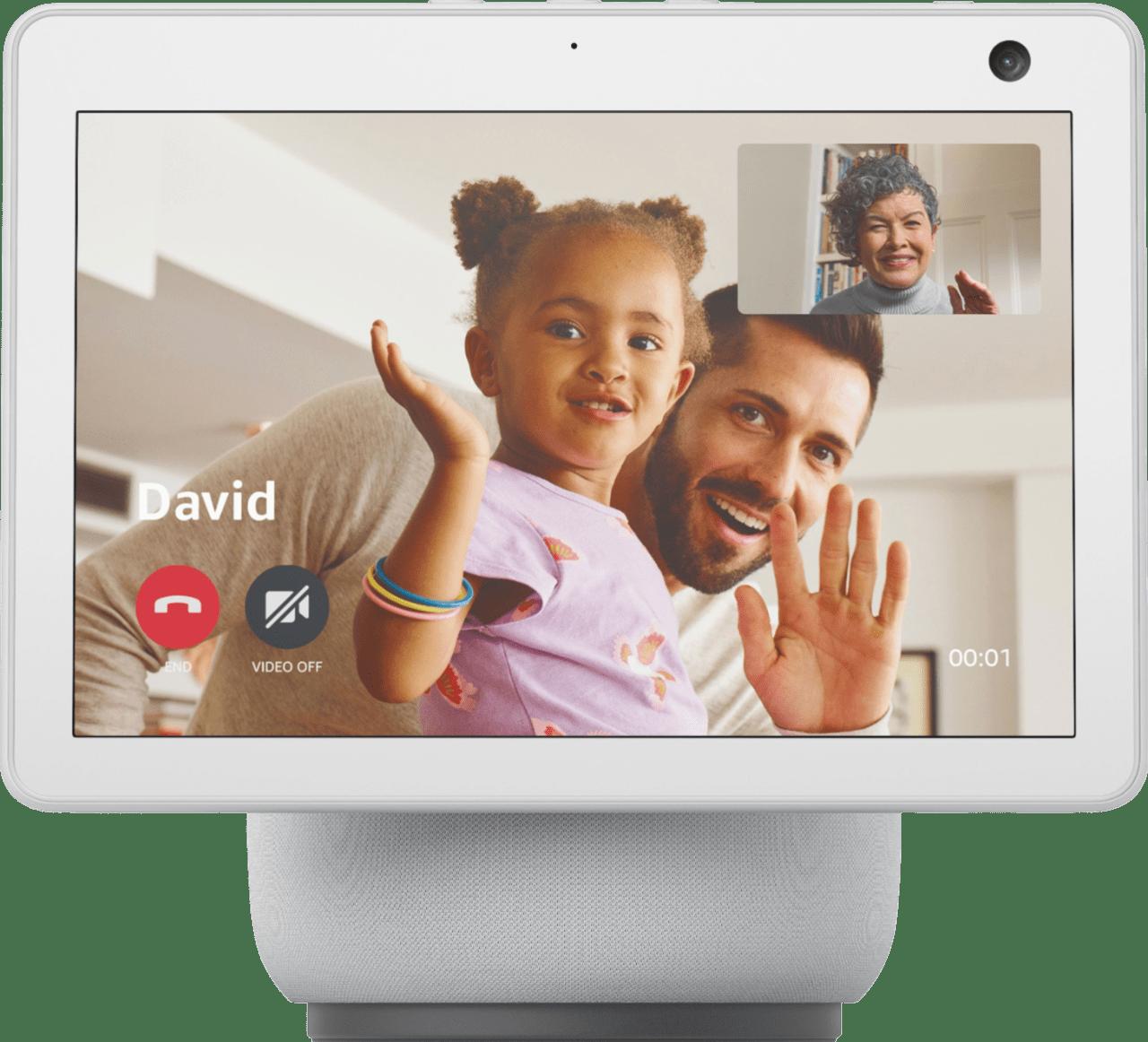 White Amazon Echo Show 10 (3rd Gen).1