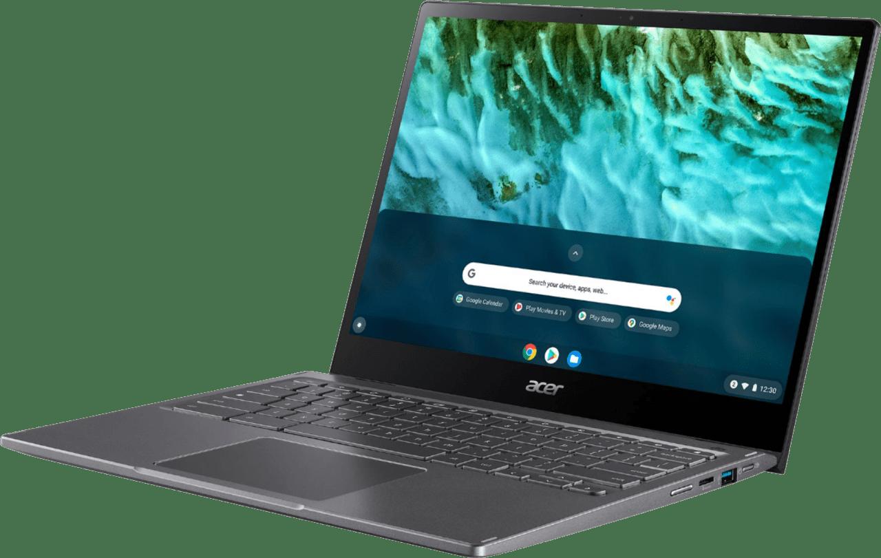 Black Acer Chromebook Spin 713 Laptop - Intel Evo Core i5 – 8GB – 256GB SSD.2