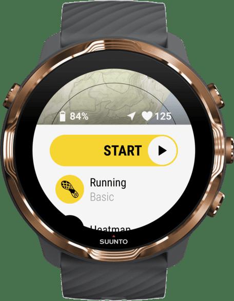Graphite Suunto 7 GPS Sports watch.2