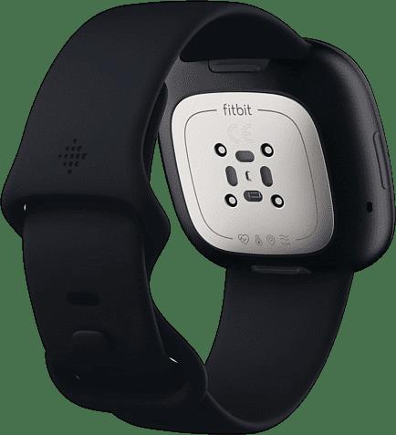 Carbon & Graphite Fitbit Sense Smartwatch.3