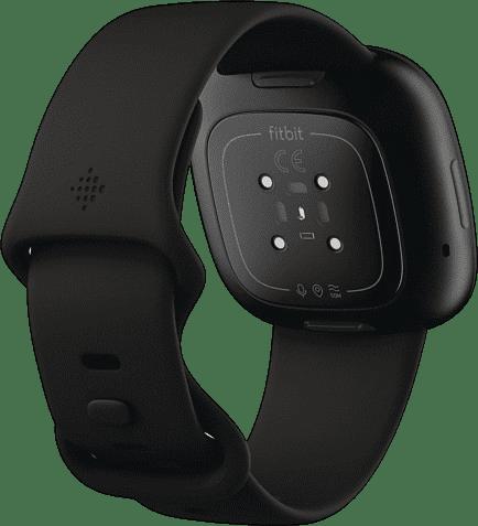 Black Fitbit Versa 3 Smartwatch.4