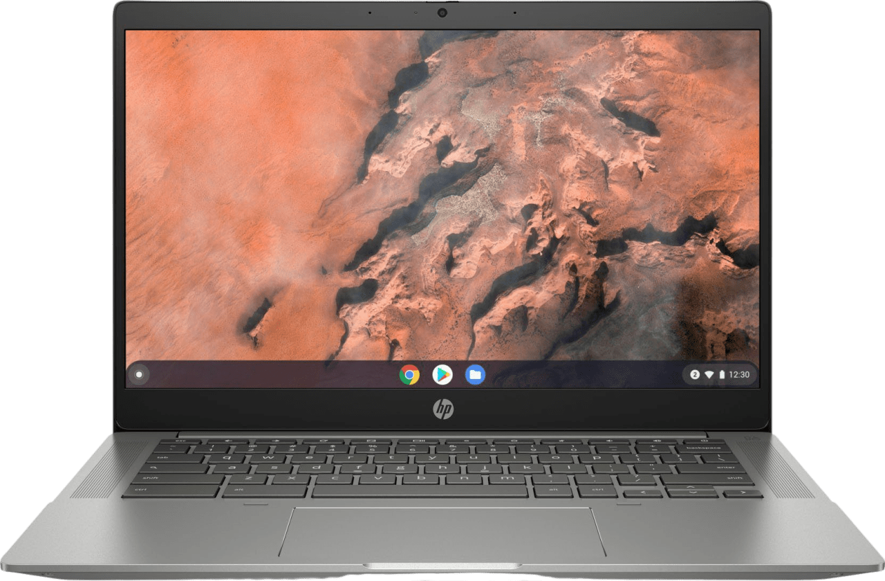 Mineral silver HP Chromebook 14 14b-na0256ng Laptop - AMD Ryzen™ 5 3500U - 8GB - 128GB PCIe - AMD Radeon™ Graphics.1