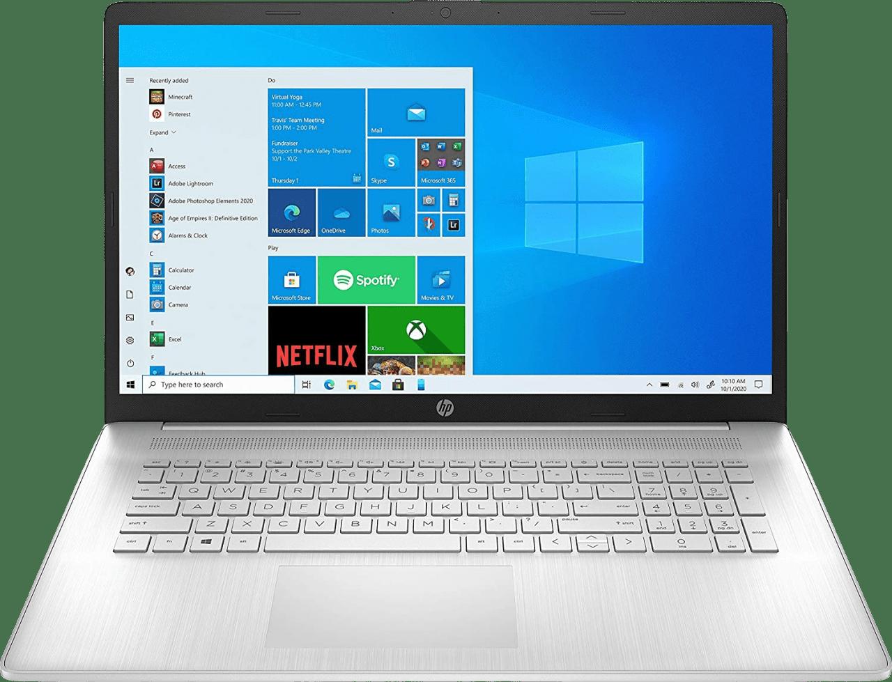 Natural Silver HP 17-cn0055ng Laptop - Intel® Core™ i5-1135G7 - 8GB - 512GB PCIe - Intel® Iris® Xe Graphics.1