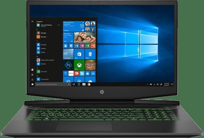 Schwarz HP Pavilion Gaming 17-cd2055ng - Gaming Notebook - Intel® Core™ i5-11300H - 16GB - 512GB SSD - NVIDIA® GeForce® RTX 3050 (4GB).1
