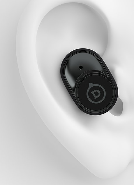 Mat Zwart Devialet Gemini Draadloze Ruisonderdrukkende In-ear Bluetooth Hoofdtelefoon.5