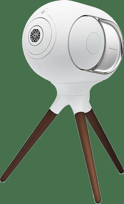 Ikonisches Weiß Devialet Treepod Hochwertiger Ständer für Phantom I.3