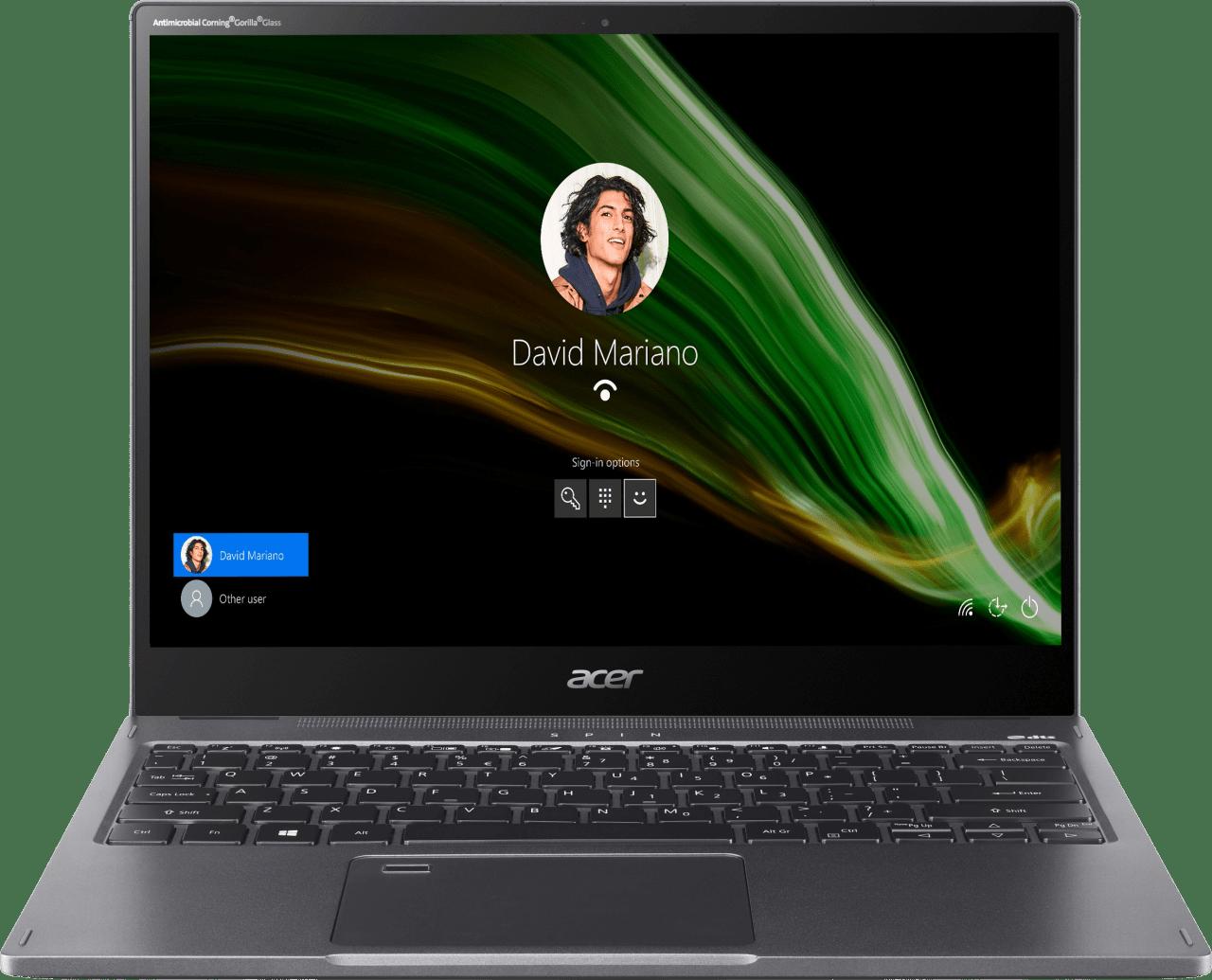 Grey Acer Spin 5 SP513-55N-771F Convertible - Intel® Core™ i7-1165G7 - 16GB - 1TB SSD - Intel® Iris® Xe Graphics.2