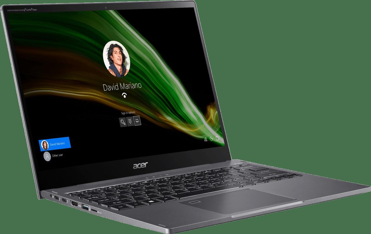 Grey Acer Spin 5 SP513-55N-771F Convertible - Intel® Core™ i7-1165G7 - 16GB - 1TB SSD - Intel® Iris® Xe Graphics.3