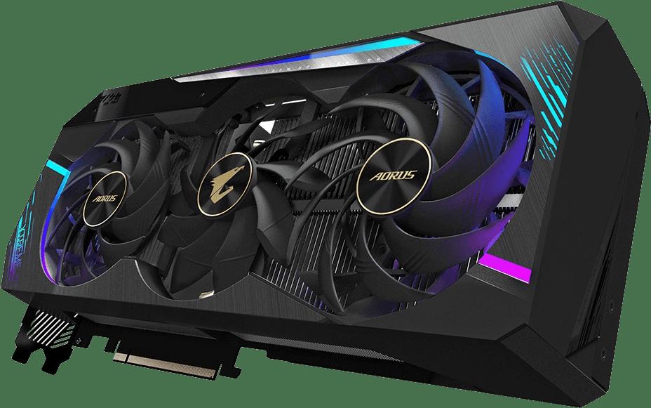 Schwarz Gigabyte Aorus GeForce RTX 3090 Xtreme 24G Grafikkarte.1