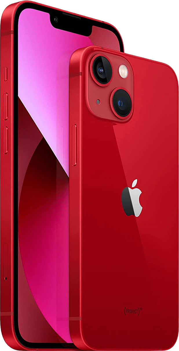 (Product)Red Apple iPhone 13 - 128GB - Dual SIM.2