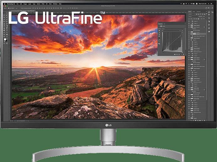 """Black LG - 27"""" Ultrafine 27UN850-W.1"""