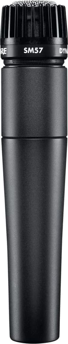 Black Shure SM57-LC Dynamische Instrument Microfoon.1