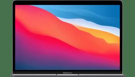 Apple MacBook Air (Late 2020) - English (QWERTY) Laptop - Apple M1 - 8GB - 256GB SSD - Apple Integrated 7-core GPU