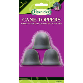 3 CaneTopper - Black (3 per pack)