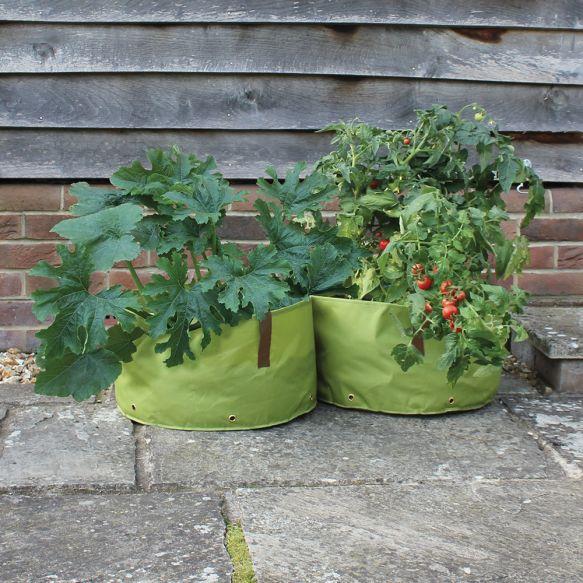 Oxford Fabric Planters - Medium (Pack of 2)