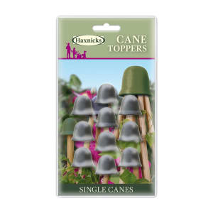 Black Cane Toppers available in a pack of 10 from Haxnicks