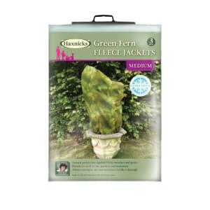 Green Fern Fleece Jackets - Medium