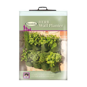 The Herb Wall Planter from Haxnicks