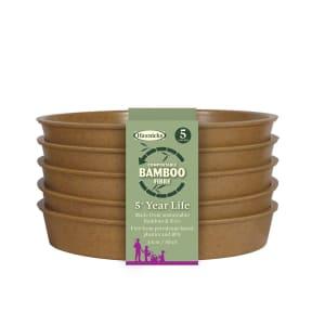 """Bamboo 5"""" Saucer - Terracotta"""