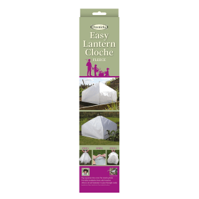 Easy Fleece Lantern Cloche