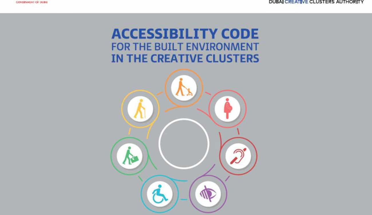 Accessibility Code for the Built Environment in the Creative Clusters