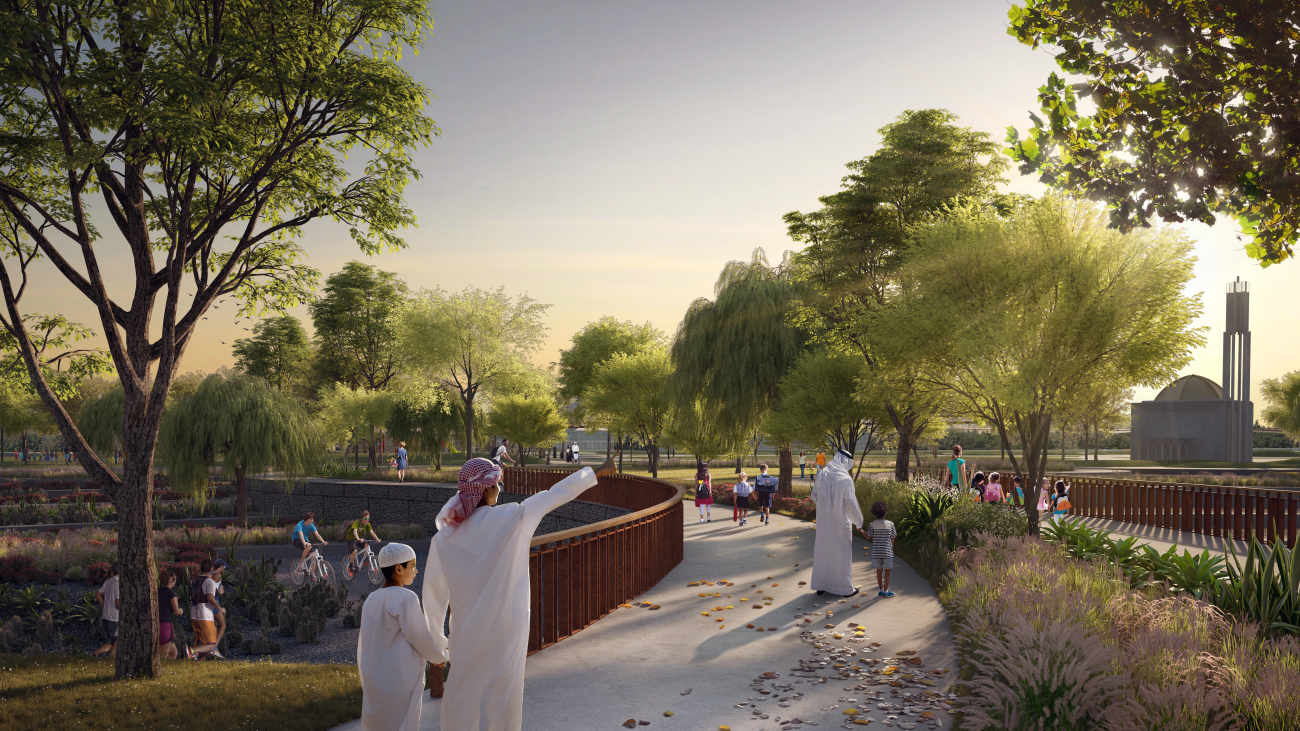 Dubai Holding & Dubai Municipality to create largest new public park in Dubai
