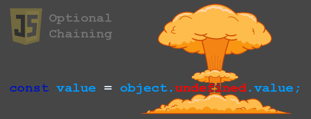JavaScript optional chaining - failsafe way of accessing object properties that might or might not exist.