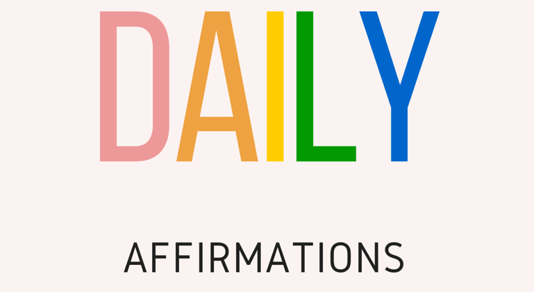 My 10 Daily Affirmations