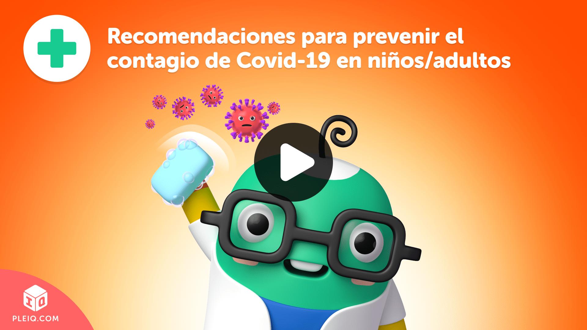 Recomedaciones para prevenir Covid-19