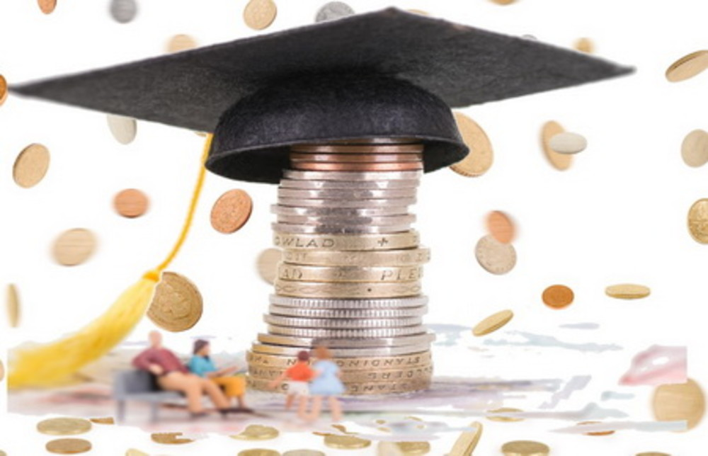 £54,000: the cost of a university education in the UK