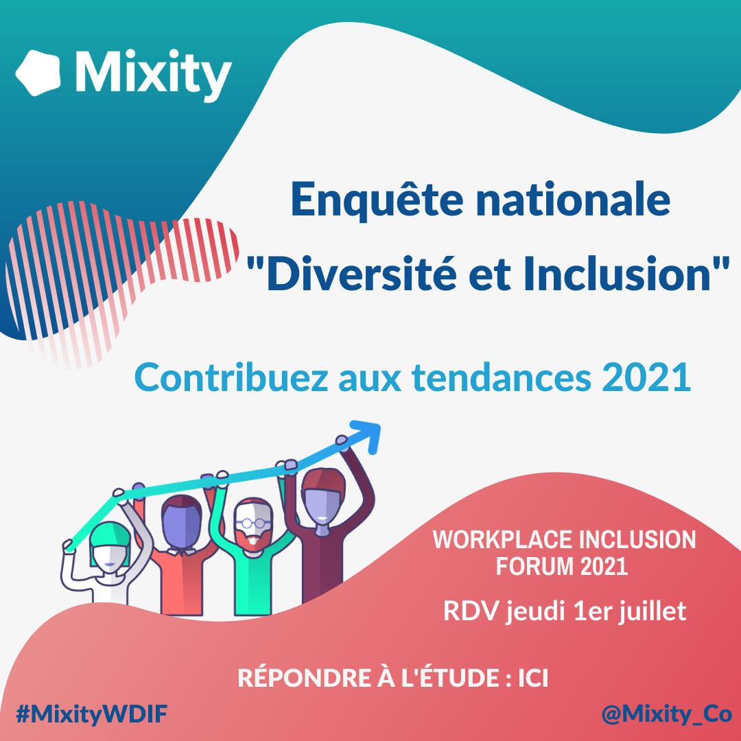 #Diversité et #Inclusion : contribuez aux tendances 2021 avec Mixity