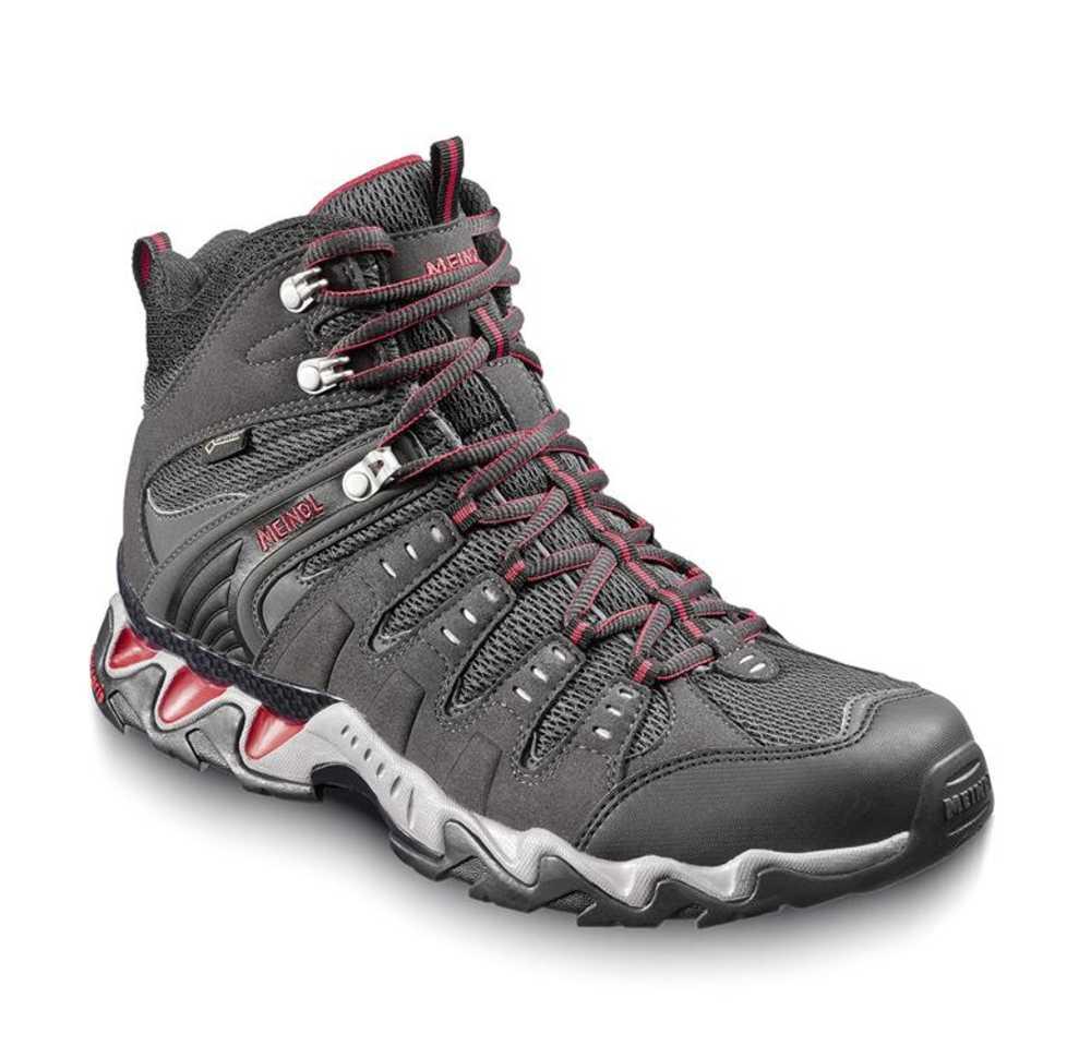 dichterbij outlet boetiek nieuwste ontwerp Meindl Respond Mid GTX Walking Boots - Graphite/Red