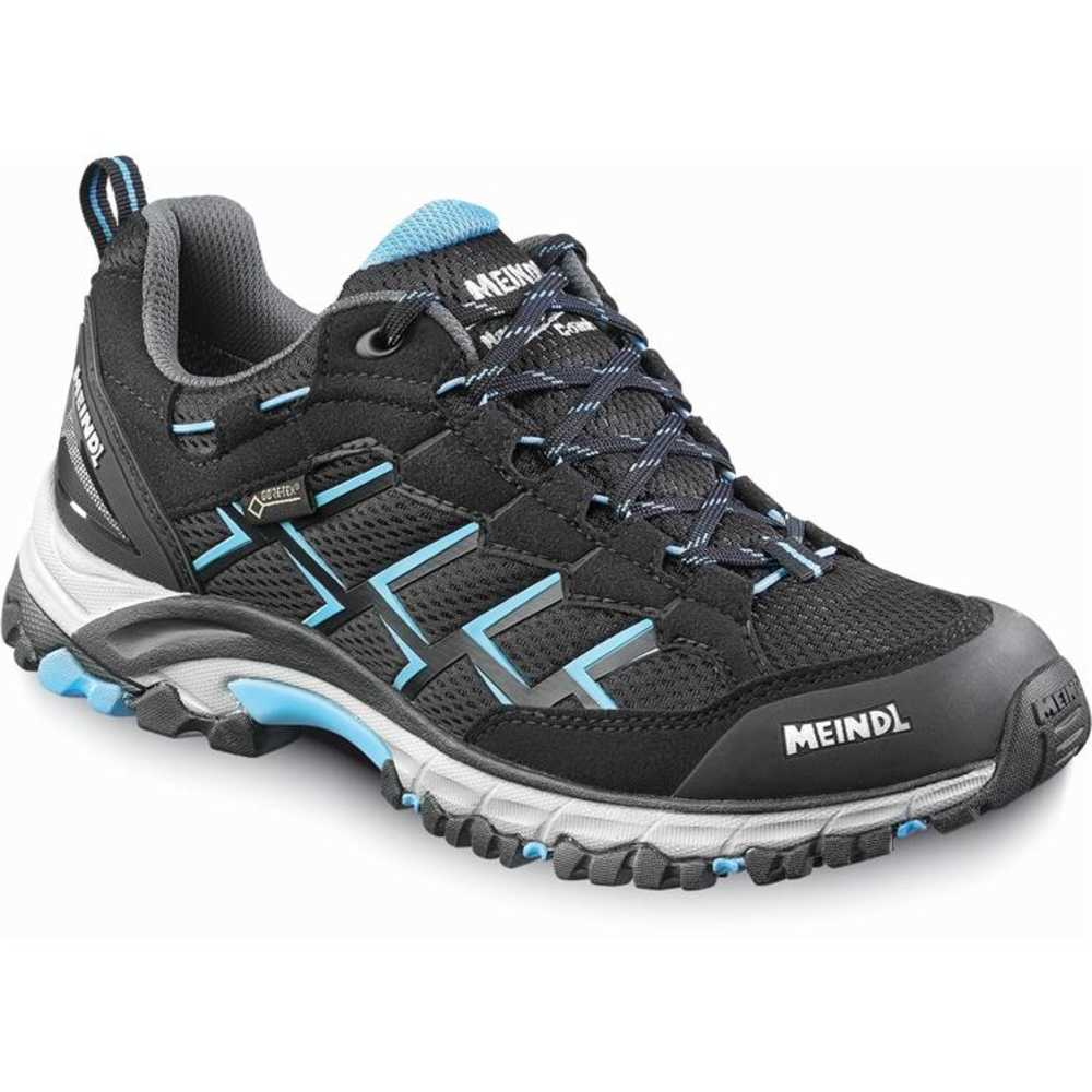 offer special buy perfect quality Meindl Womens Caribe GTX Walking Shoes - Black/Azure
