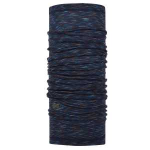 Buff Lightweight Merino Wool - Denim Blue Stripes