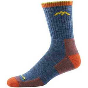 Darn Tough 1466 Hiker Boot Micro Crew Cushion Socks - Denim