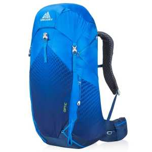 Gregory Optic 58 Rucksack - Beacon Blue - Large Back