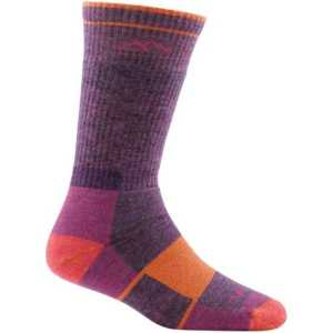 Darn Tough 1908 Womens Hiker Boot Full Cushion Socks - Plum Heather