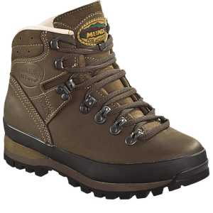 Meindl Borneo Lady 2 MFS Walking Boots - Dark Brown/Nougat