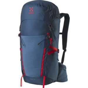 Haglofs Spira 35 Litre Medium/Large Back Rucksack - Blue Ink/Pop Red