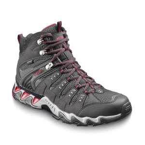 Meindl Respond Mid GTX Walking Boots - Graphite/Red