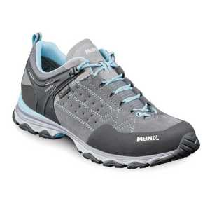 Meindl Ontario Lady GTX Walking Shoes - Grey/Azure Blue