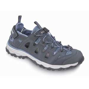 Meindl Womens Lipari Wide Fit Walking Sandals - Denim