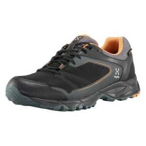 Haglofs Mens Trail Fuse GT Waterproof Walking Shoes - True Black/Desert Yellow