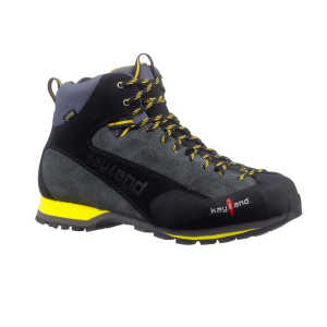 Kayland Vertex Mid GTX Walking Boots - Grey/Yellow