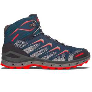 Lowa Mens Aerox GTX QC Speed Hiking Boots - Navy/Red