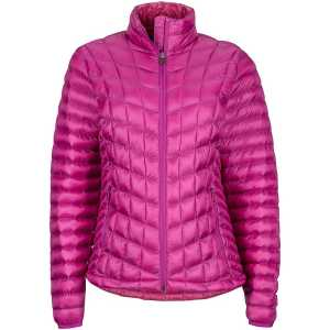 Marmot Womens Featherless Hooded Insulated Jacket - Purple Orchid