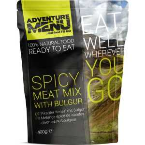 Adventure Menu Spicy Meat Mix with Bulgur Camp Food