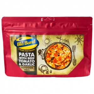 Bla Band Pasta with Beef Tomato and Garlic Camp Food