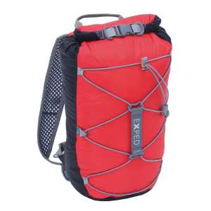 Exped Cloudburst 25 Waterproof Rucksack - Black/Red