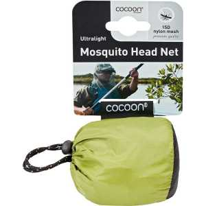Cocoon Ultralight Mosquito Head Net - Silt Green